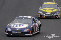 Rusty Wallace and Robby Gordon