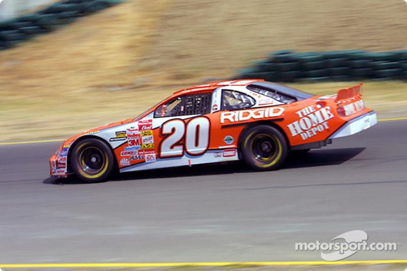 2001, Sonoma: Tony Stewart (Gibbs-Pontiac)