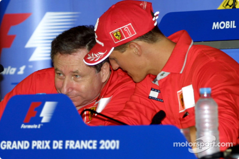 Thursday press conference: Jean Todt and Michael Schumacher