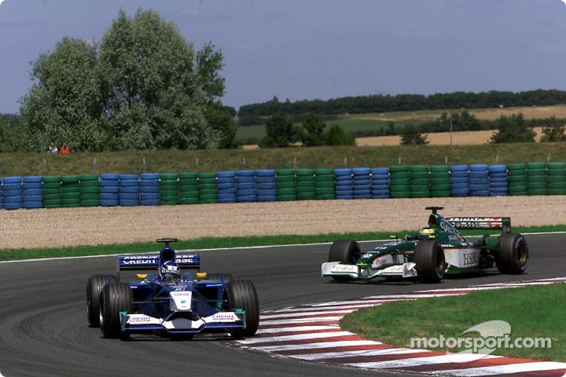 Kimi Raikkonen and Pedro de la Rosa