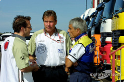 Jacques Villeneuve, Craig Pollock and Pierre Dupasquier