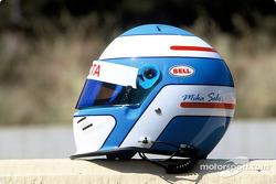 Mika Salo's helmet