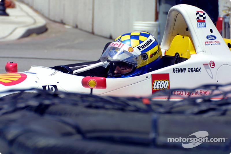 Kenny Brack off the track