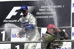 Ralf Schumacher and Jacques Villeneuve