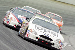 Dale Jarrett leading the field