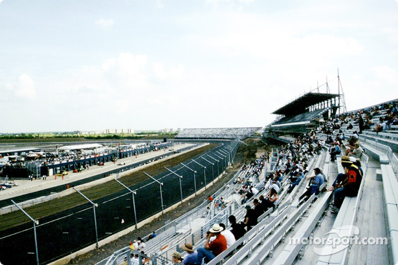 The new Rockingham Motorspeedway near Corby in England