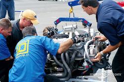 Routine engine change