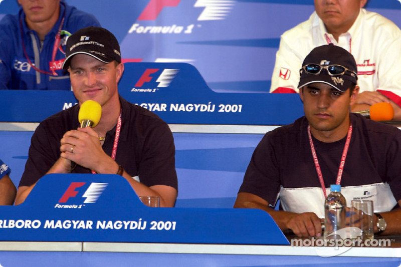 Thursday press conference: Ralf Schumacher and Juan Pablo Montoya
