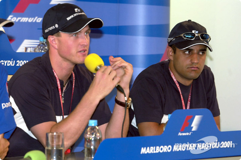 Thursday press conference: Ralf Schumacher and Juan Pablo Montoya