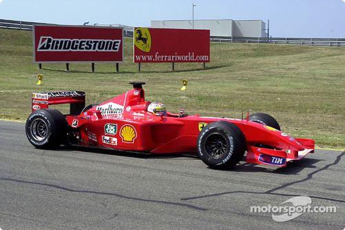 Ferrari Ağustos test sezonu