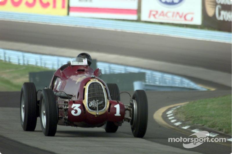 Peter Giddings - 1935 Alfa 8C35