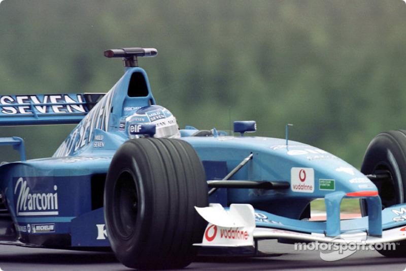 Giancarlo Fisichella au GP de Belgique