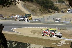 Porsche in turn 5