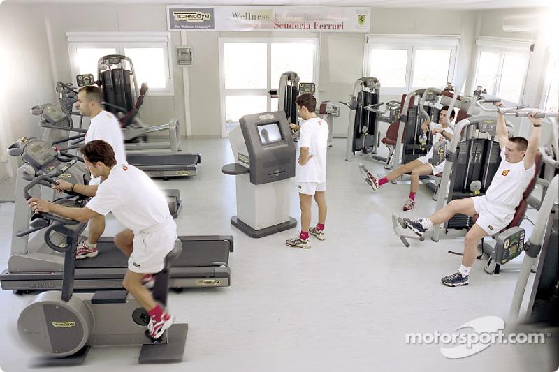 The Wellness Project for the Scuderia Ferrari