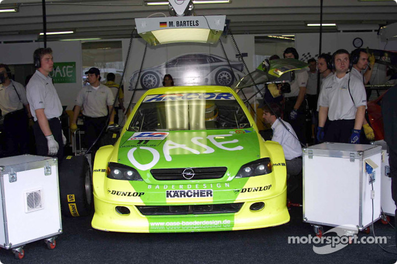 Michael Bartels and Opel Team Holzer