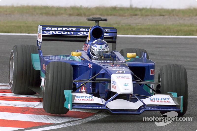 Raikkonen: Sauber (2001 y 2019-?)