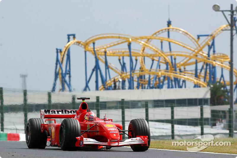 2001 - Suzuka: Michael Schumacher, Ferrari F2001
