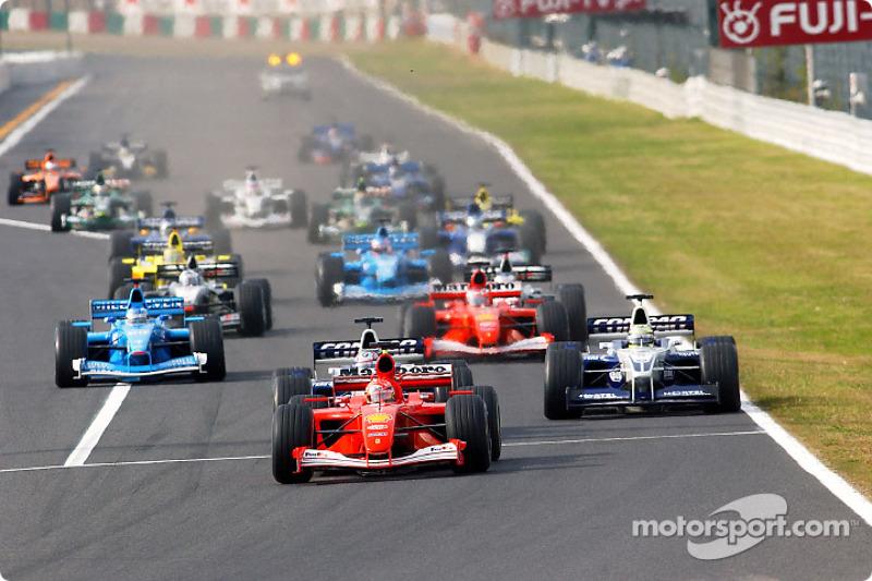 2001 Japonya GP, Ferrari F2001