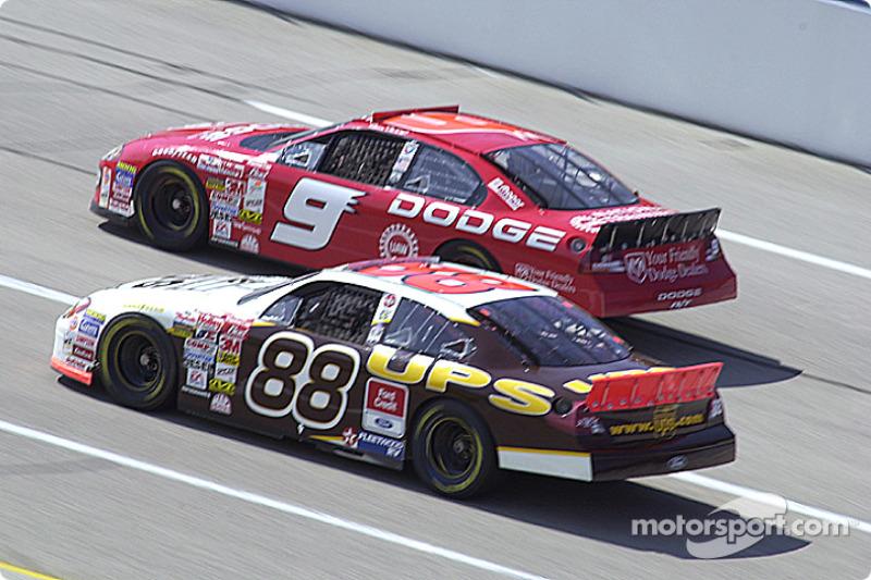 Dale Jarrett and Bill Elliott
