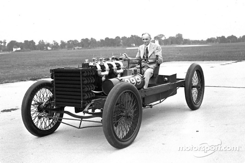 Ford Motor Company Linkedin >> Many years after 999 last raced, Henry Ford posed with the car at the Dearborn Proving Grounds ...