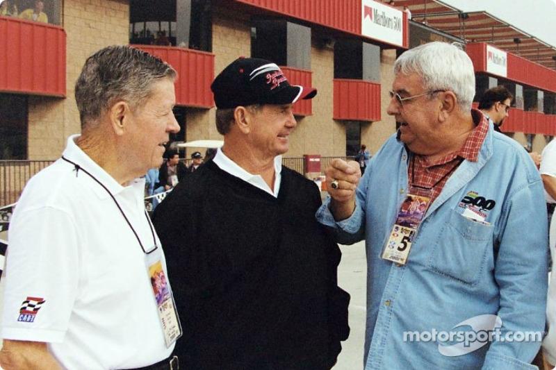 Champ car legends: Bobby Unser, Parnelli Jones and Joe Leonard