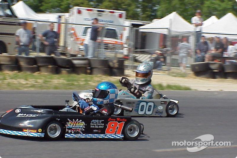 Briggs Junior Sportsman-1 Heavy 81-Corey Mackey 00-Eric Chiz