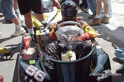 Double winner Rohn Moon waits on the grid.