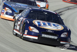 Rusty Wallace leads Mark Martin