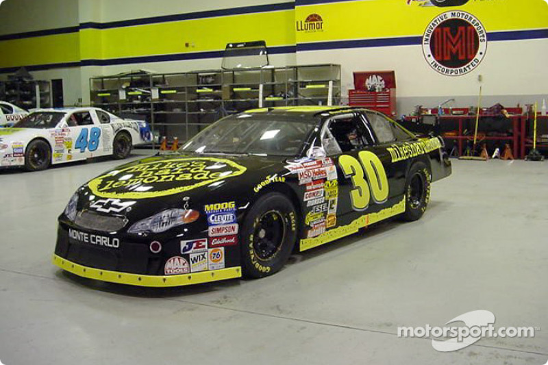 Christian Fittipaldi's Busch Grand National car