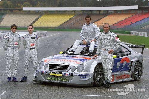 Jean Alesi AMG Mercedes CLK-DTM test