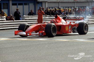 Fête Ferrari à Monza
