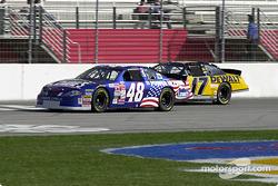 Jimmie Johnson and Matt Kenseth