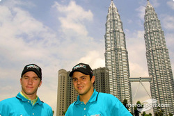 Nick Heidfeld ve Felipe Massa