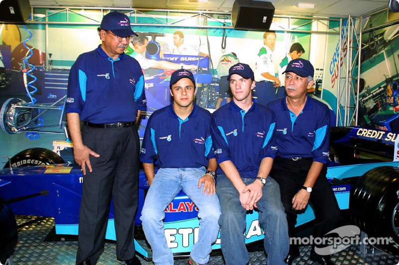 Felipe Massa ve Nick Heidfeld