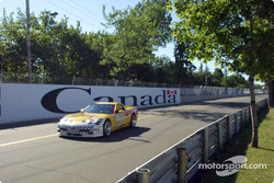 The #11 Powell Motorsports Corvette became the #111 at Trois-Rivières when the SGS class joined the Rolex Sports Car Series GT and AGT entries in a race