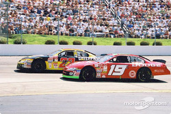Ward Burton and Casey Atwood