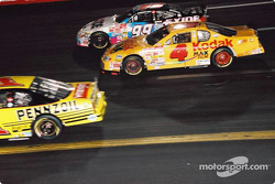 Bobby Hamilton and Jeff Burton