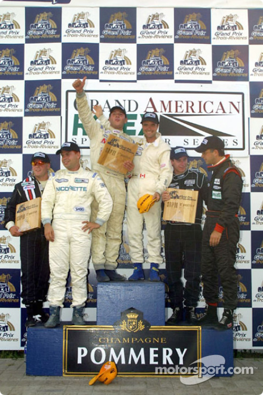 Porschehaus celebrates their win