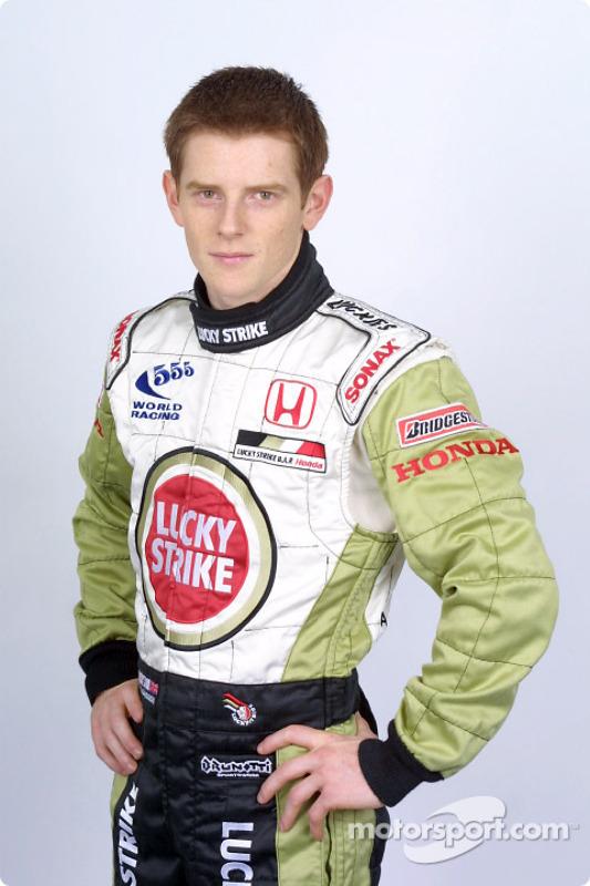 Test driver Anthony Davidson