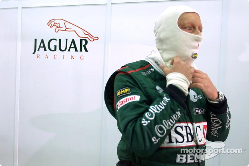 Niki Lauda se prépare