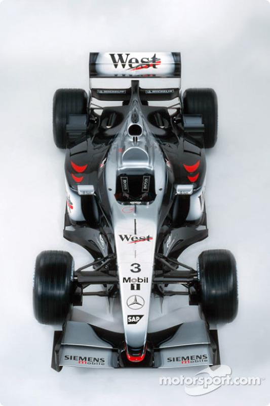 The new McLaren Mercedes MP4-17