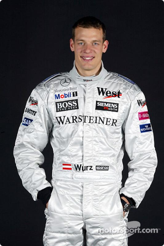 Le pilote d'essais Alexander Wurz