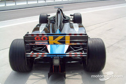 The Minardi Asiatech two-seater