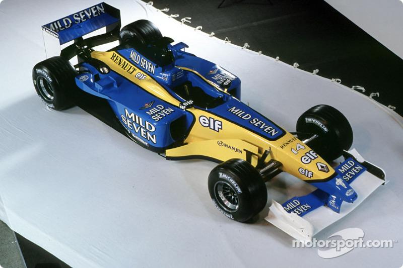 2002 - رينو اف1 آر202