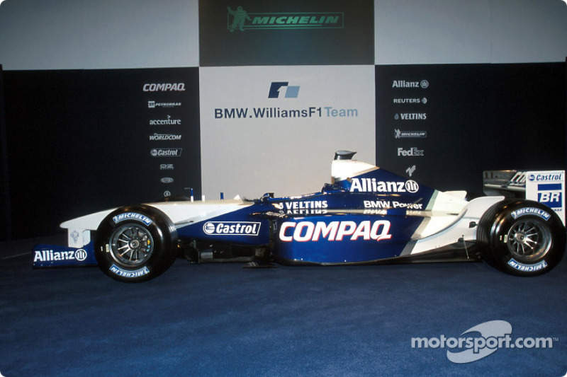 The new 2002 WilliamsF1 BMW FW24