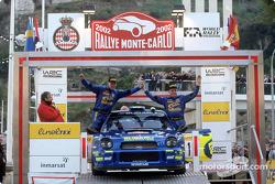 Trabajando en el Subaru Impreza WRC