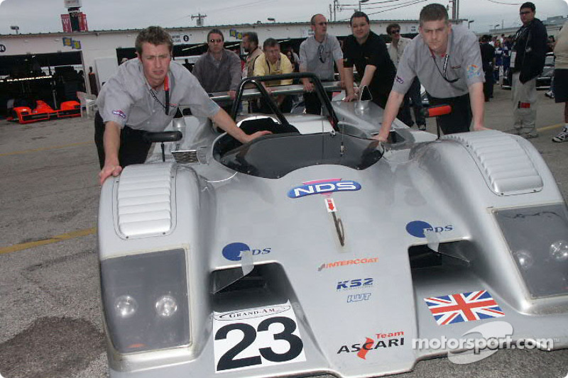 SRP class BMW-powered Ascari