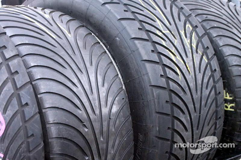 Rain tires went unused this year