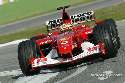 Essais de Ferrari en février