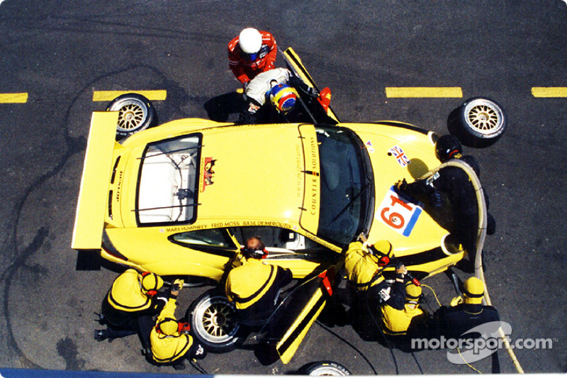 Canadian Basil Demeroutis drove with team regulars Humphrey and Moss